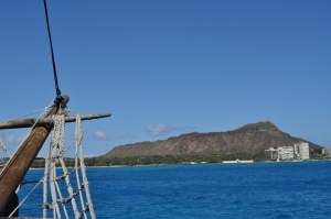 Diamond Head from Pirate Ship